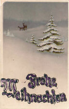 AK, Frohe Weinachten, Motiv - Winterlandschadft, 1919  (D)5026