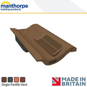 Roof Tile Vents | Roof Ventilation | Manthorpe Tile Vent | Accessories Options