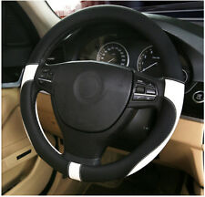 38CM Diameter Leather car steering wheel cover car-styling Environmental protect