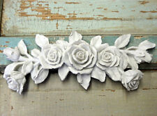SHABBY n CHIC FURNITURE APPLIQUE  ROSE BOUQUET $5.95 NO LIMIT SHIPPING WHOLESALE