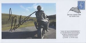 Ian Hutchinson Hand Signed Isle of Man TT - First Day Cover.