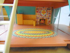 Vintage Fisher Price Play Family un cadre maison