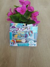 """Introducing- My Little Pony RAINBOW DASH """"Loves To Race"""" by Hasbro- Free Shippng"""