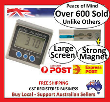 Digital Box Gauge Angle Protractor Level Inclinometer Magnetic Base ( 0 - 360° )