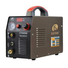 Lotos Plasma Cutter 50 Amp Tips Torch Automatic Dual Voltage Frequency