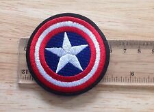 Captain Amercia Shield Iron On Patch