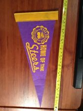 "12"" Texas College Tyler Home Of The Steers Basketball Or Football Pennant"