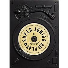 SUPER JUNIOR [PLAY] 8th Album PAUSE VER CD+FotoBuch+Letter K-POP SEALED