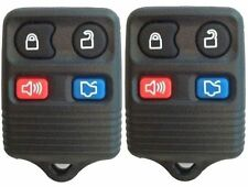 PAIR FORD VEHICLES BRAND NEW 4-BUTTON KEYLESS ENTRY REMOTE (2-r12fx-dap-A)