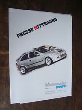 Dietro Meier Power OPEL ASTRA G sportive 2.0 di 16v ECOTEC-TURBO DIESEL, press-KIT