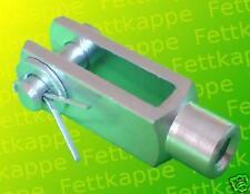 10x40 M10 mit Federbolzen 10 Stück 2.28€// verzinkt DIN71752 Gabelkopf