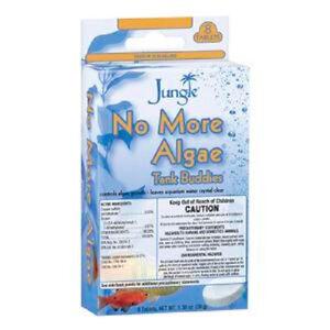 JUNGLE NO MORE ALGAE FIZZ TABS MAINTENACE 8 TABLETS TANK BUDDIES. FREE SHIP USA