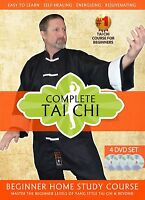 Complete Tai Chi For Beginners - 4 DVD Set - Yang Style - NEW! - quick ship