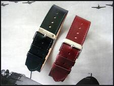 10mm NATO g10 1pc Flieger Aviator Pilot Bund leather watch band strap IW SUISSE
