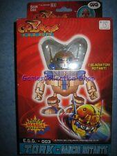 CYCLONIANS E.G.G.-003 TORK - GANCIO ROTANTE Bandai 2001 Come Nuovo MIB.