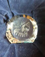 Swarovski  SCS PIERROT 1999  DISC PAPERWEIGHT 40mm  MIB   SALE!!!
