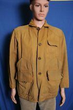 Vintage 40s 50s Huntmaster canvas bird hunting jacket coat S/M