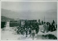 Iran during WWI 1916-17Soldiers at The Kurdish Frontier. - 8x10 photo