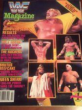 WWF WRESTLING MAGAZINE FEBRUARY 1990 VINTAGE CATALOG WCW WRESTLEMANIA VI
