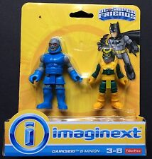 Fisher Price Imaginext DC Super Friends Darkseid and Minion New