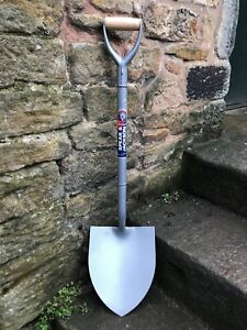 Spear & Jackson All Steel MYD Round Mouth Shovel - Digging,Contractors, Builders