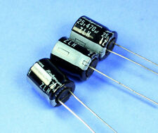 10pcs Rubycon ZLH 470uF 25v 105c Radial Electrolytic Capacitor