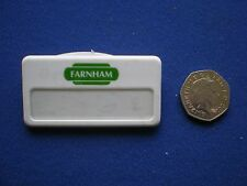 British Rail - Farnham staff  pin badge    1980s/90s