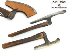 BN_06a - Small Kitchen AXE or Woodworking AXE with Leather Sheath