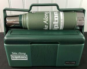 Vintage Stanley Aladdin/Lipton Take-Along Lunch Box & Thermos Combo