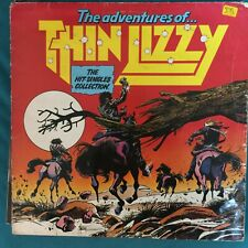 THIN LIZZY LP THE ADVENTURES OF THIN LIZZY THE HIT-SINGLES COLLECTION 1981 LIZTV