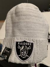 Oakland Raiders 2017 NFL On Field Color Rush Knit Hat