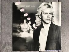Tommy Shaw (of Styx) What If RARE promo 12 x 12 Poster Flat '85