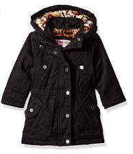 Urban Republic Girls Cotton Twill Hooded Jacket Black Size M (10/12) B3303