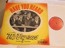 THE DUPREES HAVE YOU HEARD ORG '63 COED DOO-WOP CLEAN NM- DISC!