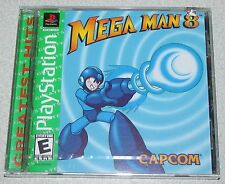 Mega Man 8 for Playstation PS1 Brand New! Factory Sealed!