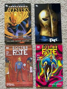 Doctor Fate TPB lot: Helmet of Fate, Countdown to Mystery, Doctor Fate Vol 2+3