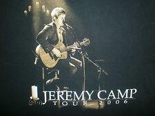 JEREMY CAMP CONCERT T SHIRT Christian Worship Praise Music Rock Live 2009 Tour