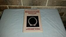 1984 Collecting Rhinestone Jewelry Price Book by Maryanne Dolan