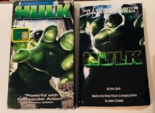 Hulk 2003 film (VHS and Movie Tie-In Paperback)