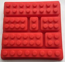 Silicone Mould Party Favor Lego Brick Candy Chocolate Jello Soap Crayon Mold Pan