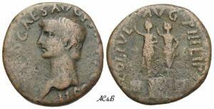 AC&B-649. Roman Provincial. Claudius augustus, 41-54. Bronze, Philippi