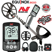 "Minelab EQUINOX 800 Waterproof Wireless Metal Detector with 11"" DD Search Coil"