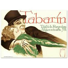 """""""TABARIN"""" RE SOCIETY PRINT BY ERNEST DEUTSCH WITH COA"""