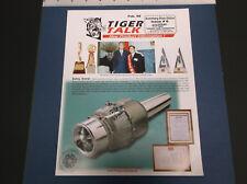 FEB '98 TIGER TALK NEWSLETTER R/C PLANES CARS BUGGIES P-15 JET ENGINE *G-COND*