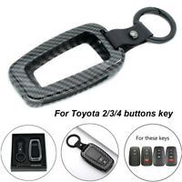 Car Remote Key Cover for Toyota Prado Camry Corolla RAV4 CHR Prius 2/3/4 Buttons