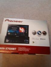 Pioneer Sat Nav/RADIO/CD.. AVH-X7500BT DVD receptor RDS AV.