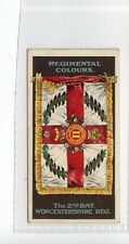 (Jd2911) GALLAHER,REGIMENTAL COLOURS & STANDARDS,WORCESTERSHIRE REG,1899,#183