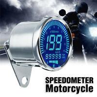 Universal LCD Digital Motorrad ATV Kilometerzähler Tachometer Drehzahlmesser