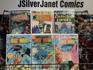 DC Comics Bronze Age Comic Book Lot Batman/Detective CATWOMAN JOKER