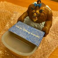 Beauty & and The Beast Soap Tray Tokyo Disney Resort 2020 Limited Figure